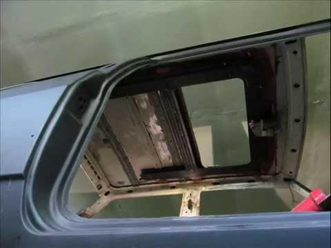 Сдвижной люк на авто своими руками 21