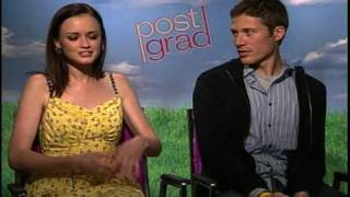 Alexis Bledel Zach Gilford interview for Post Grad.