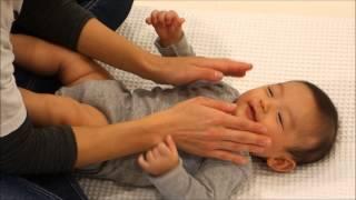 【育脳Baby-mo】ベビーマッサージ『どんぐりころころ』