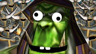 Warcraft 3 - 1 vs 11 Insane Bots