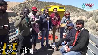 Nithin Train Scene Making Video || Lie Movie Making Videos || 2017