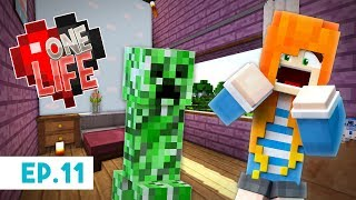 A Creeper in my House?! | One Life Season 2 - Minecraft SMP  | Ep.11