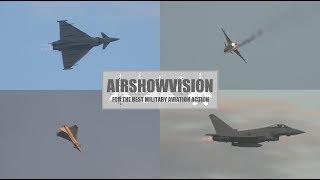 SUNDERLAND RAF TYPHOON SUNSET SHOW 2017 (airshowvision)