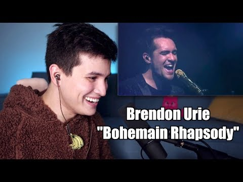Vocal Coach Reaction to Brendon Urie Bohemian Rhapsody at the AMAs