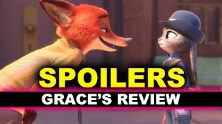 Zootopia Movie Review SPOILERS - Furry Love - Beyond The Trailer