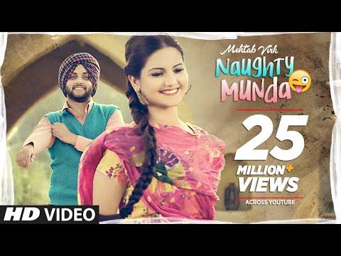 Mehtab Virk: Naughty Munda   Desi Routz   Latest Punjabi Songs 2017   T-Series Apna Punjaba