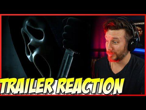 Scream Official Trailer 2022 Movie REACTION