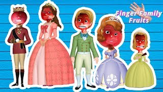 Finger Family Wrong Heads Sofia The First | Pomegranate Finger Family