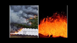 Hawaii Volcano latest: Lava destroys Hawaiian MAYOR's house along with HUNDREDS more homes