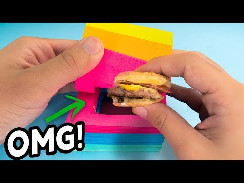 Weird Ways to Sneak Food Into Class Back to School Hacks & Pranks 2017 Natalies Outlet