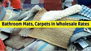 VikVlogs #28 🇮🇳 | Biggest Carpets, Bathroom Mats Market | Carpets In Wholesale In Chor Bazaar |