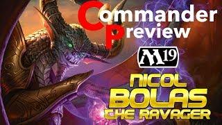 Grixis God Pharaoh!! | Nicol Bolas, The Ravager Preview