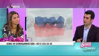 Diş Hekimi Mahmut Genç  - Sağlık Zamanı Beyaz TV - 16.09.2017