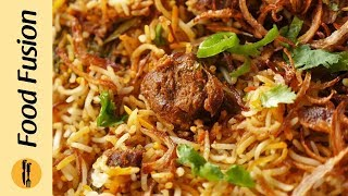 Beef Biryani Recipe By Food Fusion