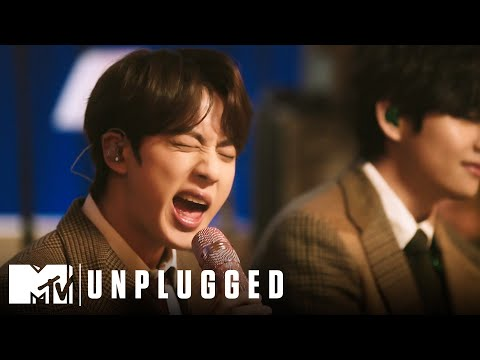 BTS Performs Life Goes On MTV Unplugged Presents BTS