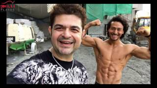 Tiger Shroff Photo Shoot (Video) With Dabbo Ratnani - 2017- Behind The Scene