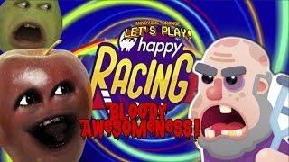 Midget Apple Plays - HAPPY RACING: Bloody Awesomeness!