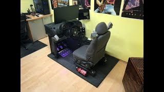 Here My First DIY Homemade Sim Racing Cockpit Build. BMW e36 and Thrustmaster Wheel Symprojects