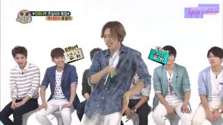 [ENG SUB] 130807 INFINITE at Weekly Idol Eps. 107