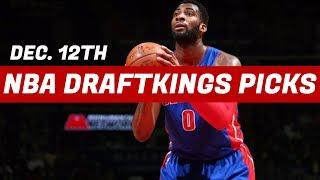 12/12/17 NBA DraftKings Picks - Top 5 Plays