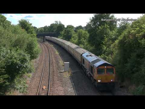 GBRf 66762 ~ 1Z07 'The Absent Shunter' GBRf Charity Tour 13/08/2017