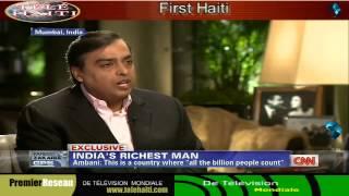 India Richest Man:- Mukesh Ambani Television Interview With FAREED ZAKARIA