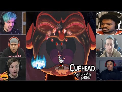 Xxx Mp4 Gamers Reactions To The Devil BOSS Crying Cuphead 3gp Sex
