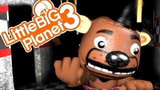 FNAF CO-OP SURVIVAL! | Little Big Planet 3 Multiplayer (64)