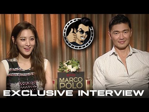 Xxx Mp4 Claudia Kim And Rick Yune Interview Netflix 39 S Marco Polo HD 2014 3gp Sex