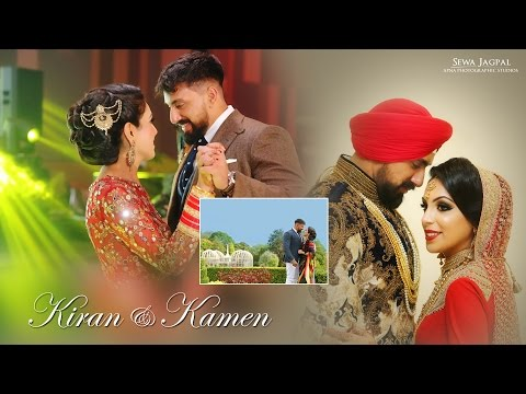 Sikh Wedding | Kiran and Kamen | The Vox, Resorts World, Birmingham | Best Indian Wedding