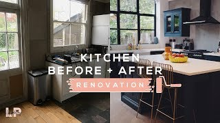 KITCHEN TOUR // BEFORE + AFTER | Lily Pebbles