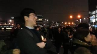 광화문 촛불집회에 중계차도 못 가져오는 MBC의 굴욕