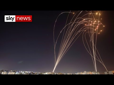 Israel Unrest Hamas launches rocket attack on Tel Aviv