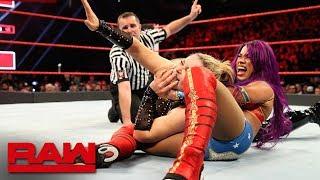 Eight-Woman Gauntlet Match for a Raw Women