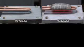 Hairpin Induction Heating Coil Demonstration