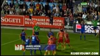 Rugby in France 2012 2013 round 08 Top 10 tries