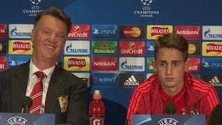 Manchester United - Louis van Gaal Puts Down Adnan Januzaj In Front Of Him?