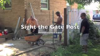HOW TO INSTALL CEDAR PRIVACY FENCE (Part 1)