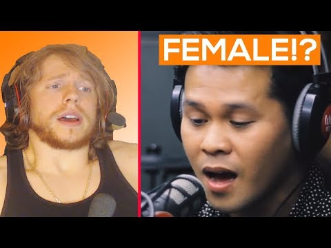 THIS A GUY OR A GIRL Marcelito Pomoy the Prayer Reaction