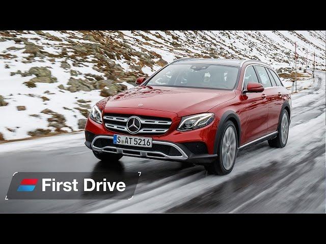 2017 Mercedes E-Class All-Terrain first drive review