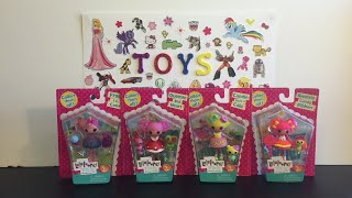 Lalaloopsy Mini figures Toy Opening & Review: Sweetie Candy Ribbon, Queenie, Candle, Frost