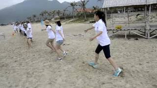 Outing 2015 -Team building - Khoi dong