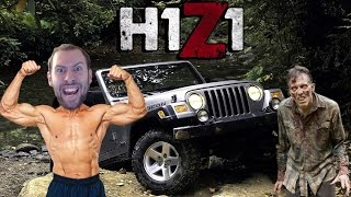 H1Z1 Multiplayer Gameplay Part 1: Joy Riding With Strangers!