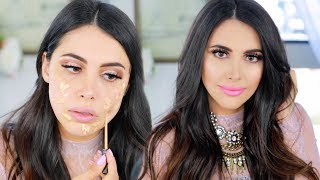 GET READY WITH ME: SUMMER DATE NIGHT, EASY FLIRTY MAKEUP (SUMMER 2017)