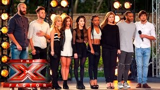 Will it be a Wonderful World for Group 10?   Boot Camp   The X Factor UK 2015
