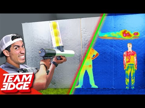 Shoot the Person Behind the Wall Heat Vision Camera Edition
