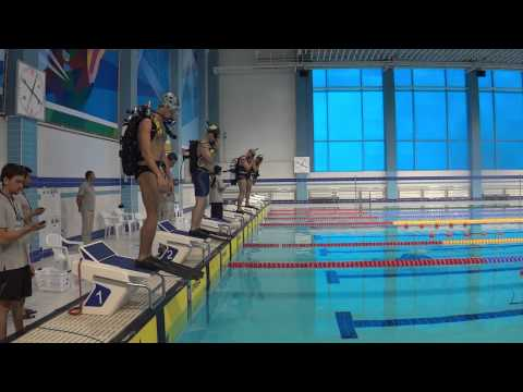 CMAS GAMES-2013 SPORT DIVING-DAY 1