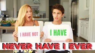 NEVER HAVE I EVER w/ MOM | Brent Rivera