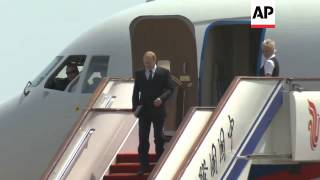 PUTIN ARRIVES FOR THREE DAY STATE VISIT
