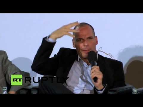 Emotional Varoufakis moved by conservative german MP